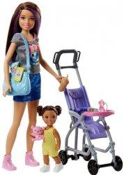 Lalka Skipper Opiekunka z wózkiem Barbie Mattel FJB00 FHY97