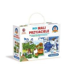 Gra edukacyjna Mali przyjaciele Clmentoni 60760