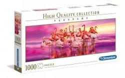 Puzzle Panoramiczne Taniec Flamingów 1000 el. Clementoni 39427