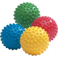 Piłka Jeżyk 18 cm Kolczasta Kolory