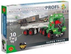 Zestaw konstrukcyjny Mały konstruktor 10w1 Super Truck Alexander 1635