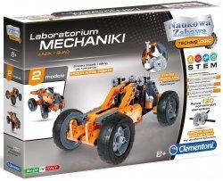 Zestaw Laboratorium Mechaniki Łazik i Quad Naukowa Zabawa Clementoni 60954