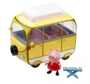 Kamper Świnki Peppy z figurką TM Toys 05325