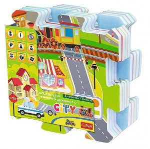 Puzzle piankowe City Trefl 60696