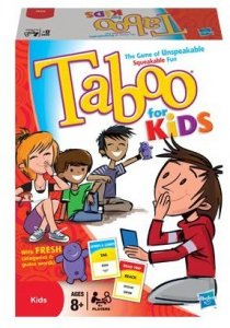 Gra Taboo Junior Hasbro 14334