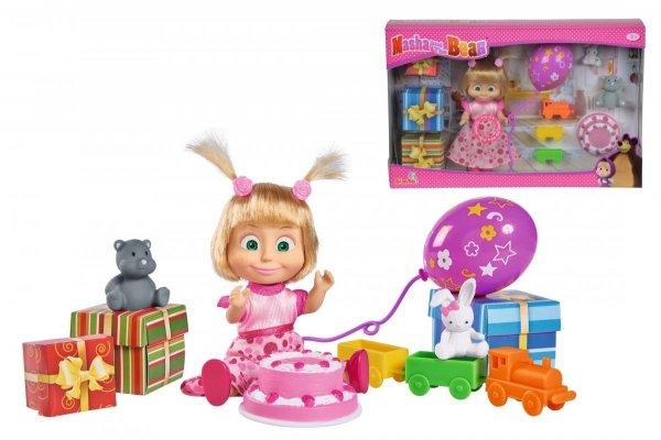 Masza i Niedźwiedź Przyjęcie urodzinowe Zabawki