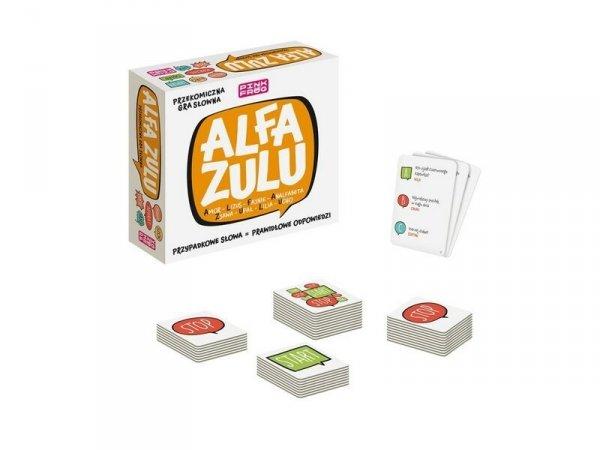 Gra Słowna Pink Frog Alfa Zulu Alexander 2516