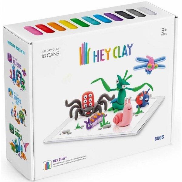 Masa Plastyczna Hey Clay Robaczki TM Toys HCLSE005