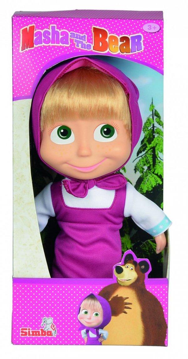 Miękka lalka Masza 23 cm z włosami do czesania