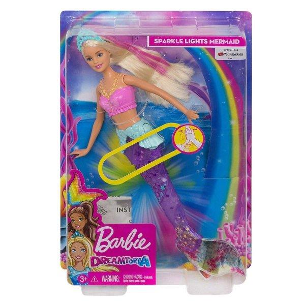 lalka barbie syrenka dreamtopia