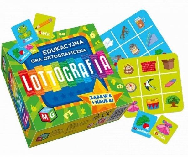Edukacyjna Gra Ortograficzna Lottografia Multigra 30067