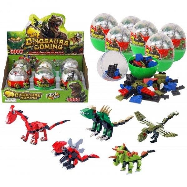 Klocki Dinozaury w Jajku