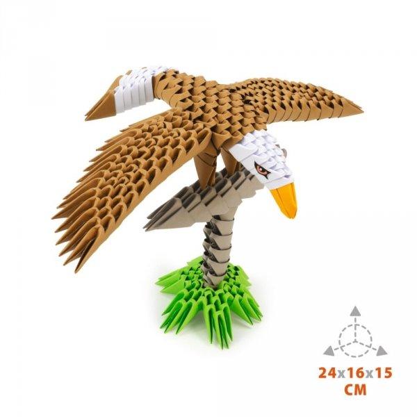 Origami 3D Orzeł