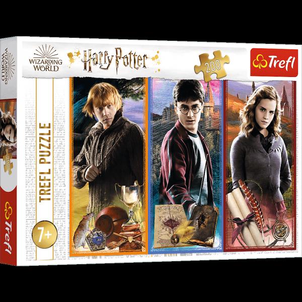 Puzzle W Świecie Magii i Czarów Harry Potter 200 el. Trefl 13277