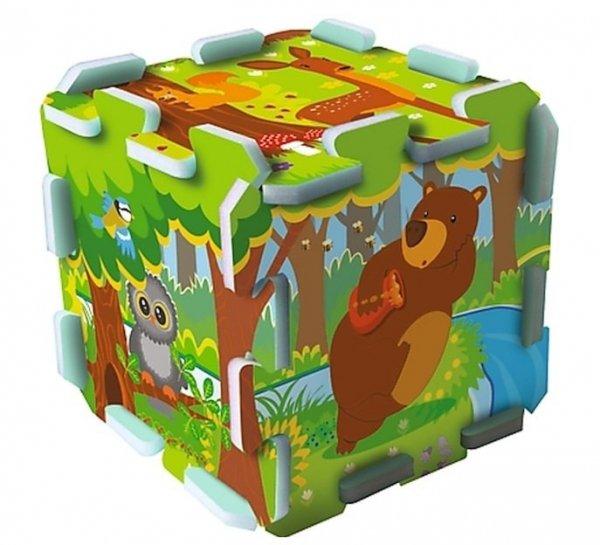 Puzzle piankowe Forest W lesie Trefl 60698