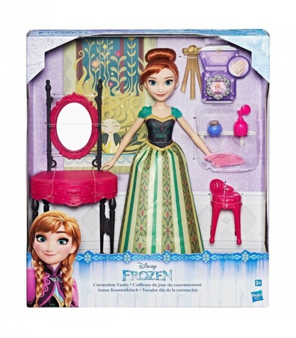 bajka kraina lodu Anna Frozen z lustrem i akcesoriami Hasbro