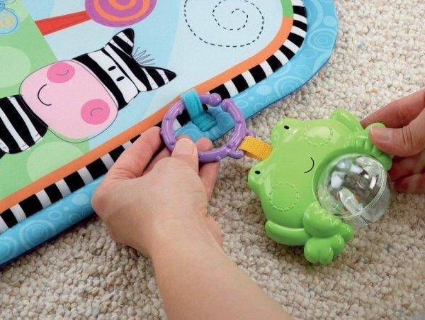 Innowacyjny przyrząd gimnastyczny dla niemowląt Fisher Price W9898