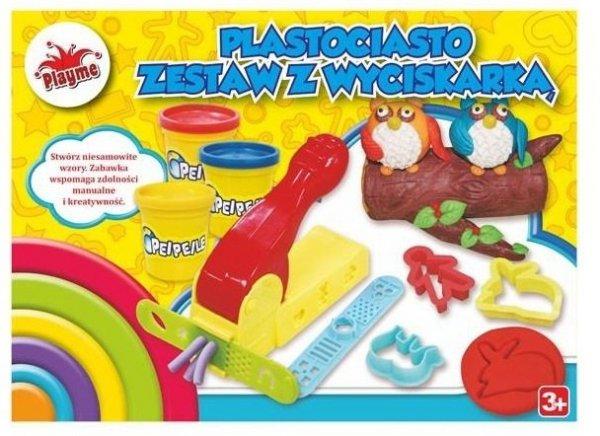 Plastociasto Zestaw z wyciskarką Playme