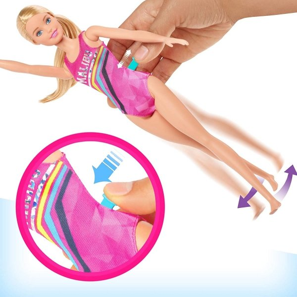Lalka Barbie Pływaczka Mattel GHK23