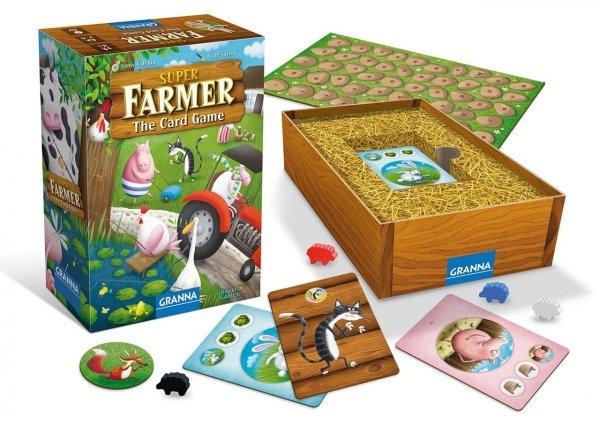 Gra SuperFarmer Card Game Granna 00367