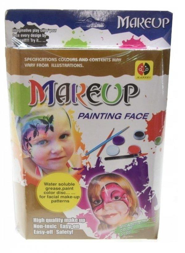 Farbki do Malowania Twarzy Zestaw