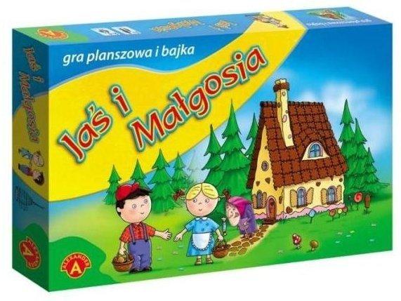 Gra planszowa Jaś i Małgosia Alexander 0332