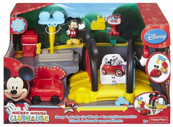 Klub Przyjaciół Myszki Miki Myjnia samochodowa Fisher Price BDJ81
