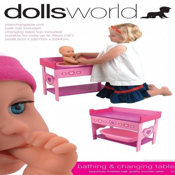 Zabawki drewniane dla lalek