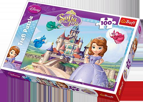 Puzzle Jej Wysokość Zosia 100 el. Trefl 16226