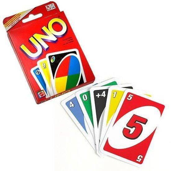 Gra Łamigłówki karty UNO Mattel