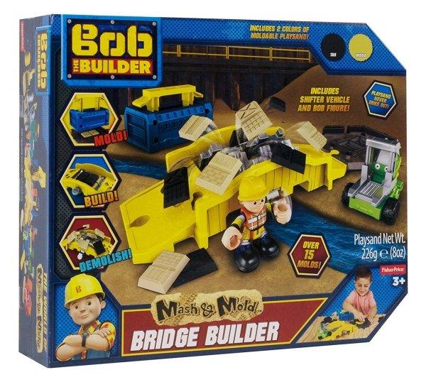 Bob Budowniczy Naprawa Mostu Piasek Kinetyczny Plastyczne Zabawki Dla Dzieci