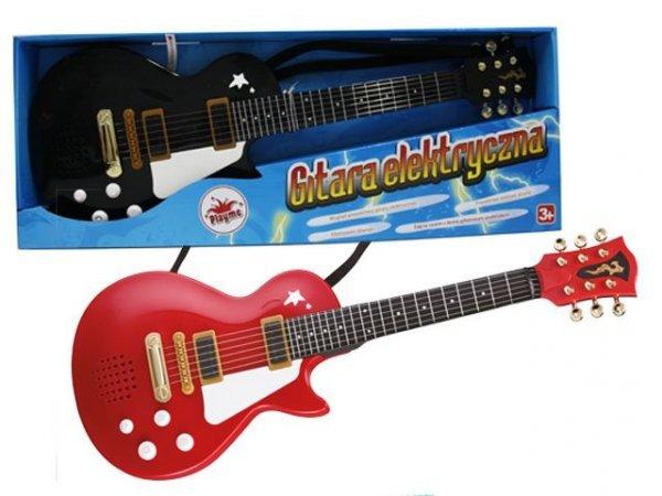 Gitara Rockowa ze strunami Playme 56288
