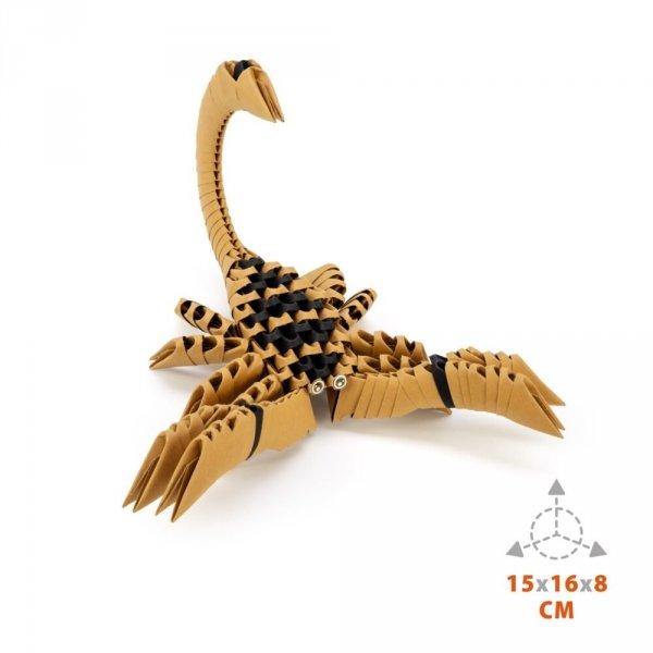 Origami 3D Skorpion