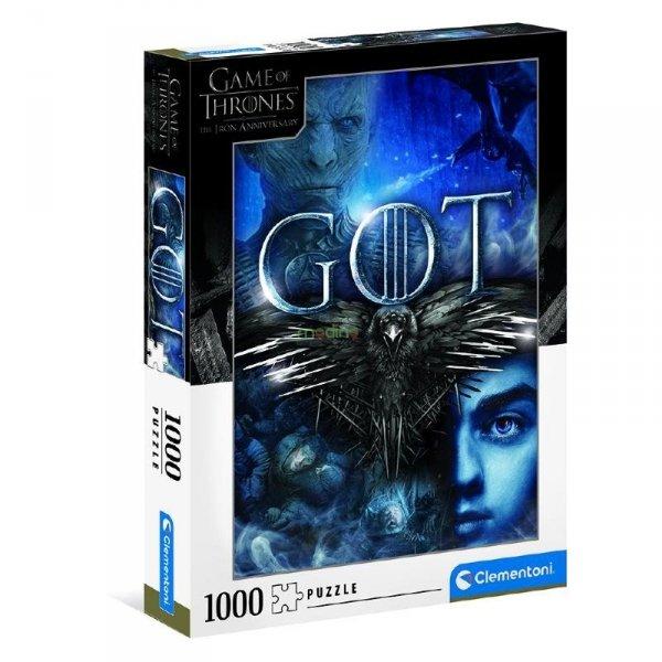 Puzzle Gra o Tron Game of Thrones 1000 el. Clementoni 39589