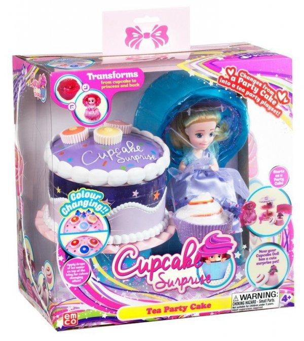 Cupcake Surprise Zestaw Tort Stół Piknikowy 2w1