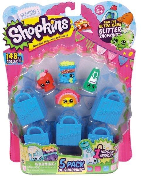 Figurki Shopkins 5 pack Sezon 1 Formatex 56003