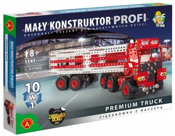 Zestaw konstrukcyjny Mały Konstruktor 10w1 Premium Truck