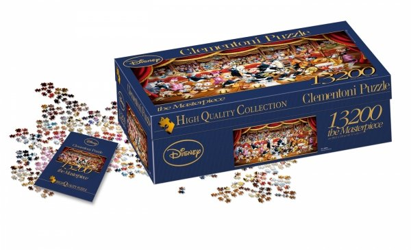 Puzzle Orkiestra Disneya 13200 el. Clementoni 38010
