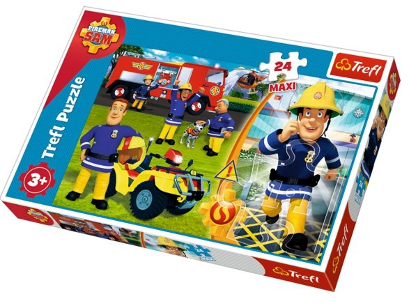 puzzle dla dzieci strażak sam