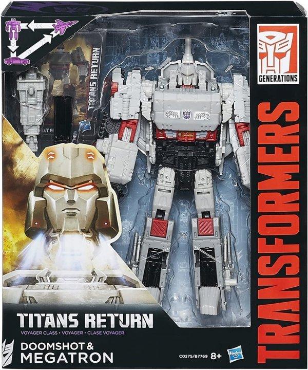 Transformers Titans Return Doomshot i Megatron
