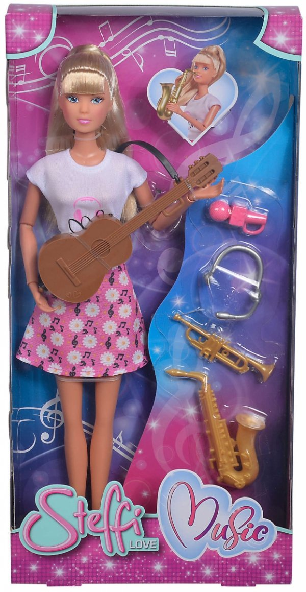 Lalka Steffi Instrumentalistka Simba 5733433