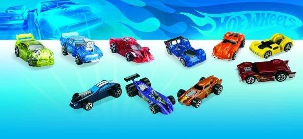 Małe samochodziki resoraki Hot Wheels