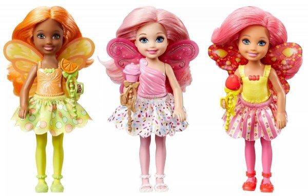 Barbie Chelsea Wróżka Mattel DVM87