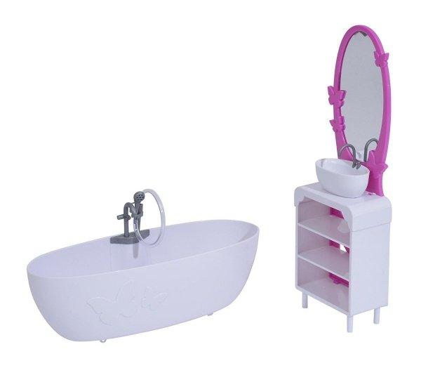 łazienka dla steffi z akcesoriami simba 4663234 meble dla lalek pokoje steffi meble