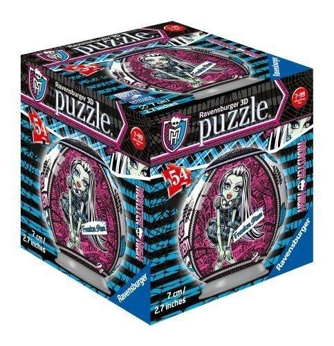 Puzzle 3D Monster High 54 el. Kula Ravensburger RAP118991