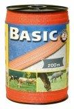 Taśma do ogrodzeń Corral BASIC 40mm - 200m - pomarańczowa