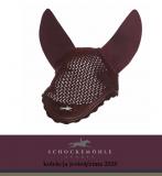 Nauszniki GLOSSY VEIL STYLE AW20 - Schockemohle - burgundy