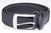 Pasek pleciony SS20 - Pikeur - black