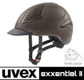 Kask EXXENTIAL II - Uvex - mocca