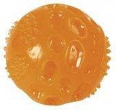 Piłka dla psa z piszczałką 7.5 cm - KERBL